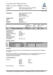 GUTACHTEN zur ABE Nr. 47346 nach §22 StVZO Anlage 5 zum ...