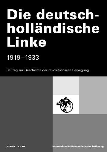 Beitrag zur Geschichte der revolutionären Bewegung
