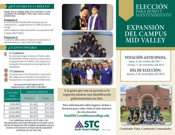 EXPANSIÓN DEL CAMPUS MID VALLEY - South Texas College