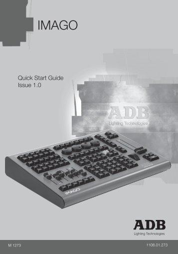 Quick Start Guide - ADB Lighting Technologies