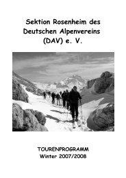 Sektion Rosenheim des Deutschen Alpenvereins (DAV) e. V.
