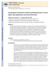 Family-Based Treatment for Adolescent - Maudsley Parents