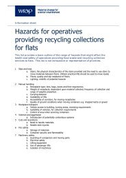 See this basic list of hazards that might affect the health and ... - Wrap