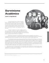 Darwinismo Académico - Revista Docencia