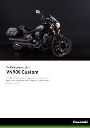 VN900 Custom - Motorrad Hoffmann