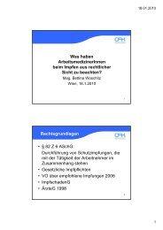 Rechtsgrundlagen • § 82 Z 6 ASchG
