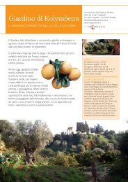 Giardino di Kolymbetra - Fai