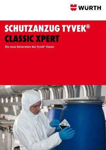 SCHUTZANZUG TYVEK® CLASSIC XPERT - Würth