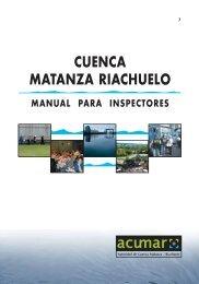 CUENCA MATANZA RIACHUELO – Manual para Inspectores