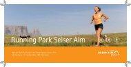 Running Park Seiser Alm - Tirler Dolomites Living Hotel