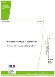 Prévision des crues et hydrométrie - cgedd