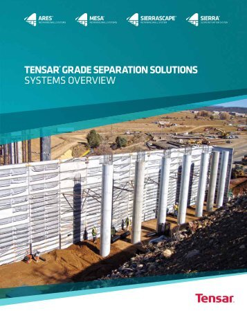 Grade Separation Solutions Overview Brochure - Tensar International