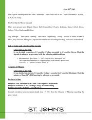 Council Minutes Tuesday, June 26, 2012 - City Of St. John's