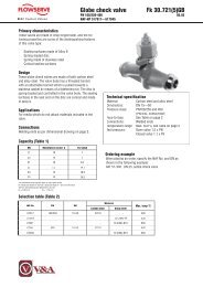 NAF - Globe Check PN 160 To 400 - Process Valve Solutions Ltd