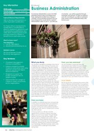 Business Prospectus - Study in the UK