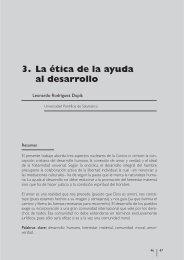 04 - LA ÉTICA DE LA AYUDA AL DESARROLLO