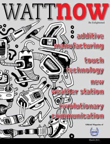 download a PDF of the full March 2011 issue - Wattnow
