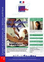 Lettre du Coepia n° 10 - Avril 2013 - Portail du Gouvernement