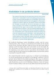 Kindsoldaten in de juridische teksten - Internationaal humanitair recht