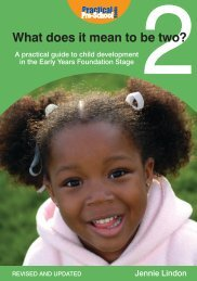 What does it mean to be two? - Practical Pre-School Books