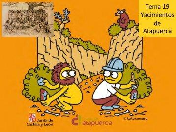 Tema 19 Yacimientos de Atapuerca - Aragosaurus