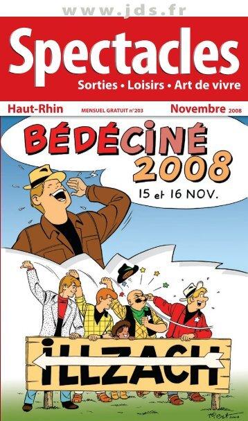 ÉTÉ 2008 Sorties • Loisirs • Art de vivre Novembre 2008 ... - JDS.fr