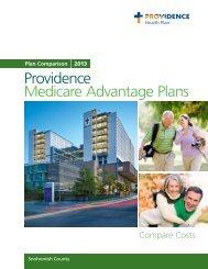 2013 Snohomish County Washington (PDF) - Providence Health ...