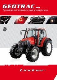 GEOTRAC 94 - Lindner Traktoren