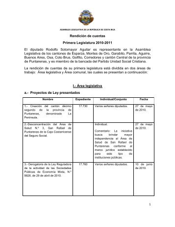 Rendición de cuentas Sotomayor 2010-2011.pdf - Asamblea ...