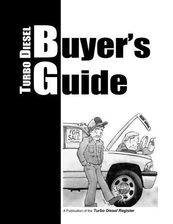 Table Of Contents - Turbo Diesel Register