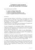 projet d'aménagements et de développement durable PADD - Page 3