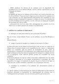 projet d'aménagements et de développement durable PADD - Page 6