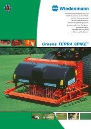 Greens TERRA SPIKE® - Wiedenmann GmbH