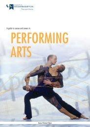 A4 PERFORMING ARTS mag - University of Wolverhampton
