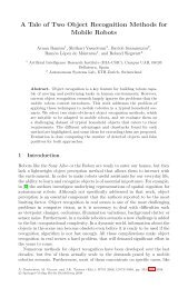 A Tale of Two Object Recognition Methods for Mobile ... - IIIA - CSIC