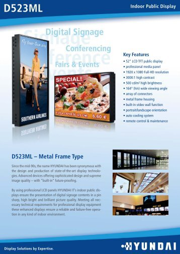 D523ML - Hyundai-displays.de