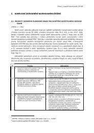 C. Komplexní zdůvodnění navrhovaného řešení (formát PDF ...