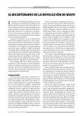 Bicentenario de la Revolución de Mayo Bicentenario - Facultad de ... - Page 7