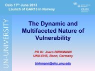 The Dynamic and Multifaceted Nature of Vulnerability, (Joern ... - NGI