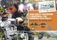 Dani Harley-Davidsona u Biogradu - flyer - Grad Biograd na Moru