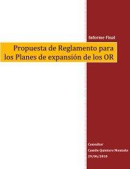 Informe Final Contrato No.051-410312-2010 - Unidad de ...