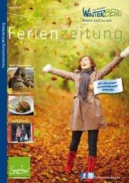 Herbstwandern Kulinarisches Einkaufswelt Ferienzeitung Winterberg
