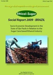 Social Report Brazil 2009 - Sucre Ethique