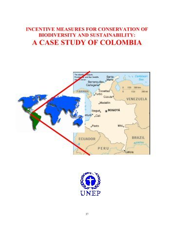 Economic incentives for micro-watershed management in Colombia ...