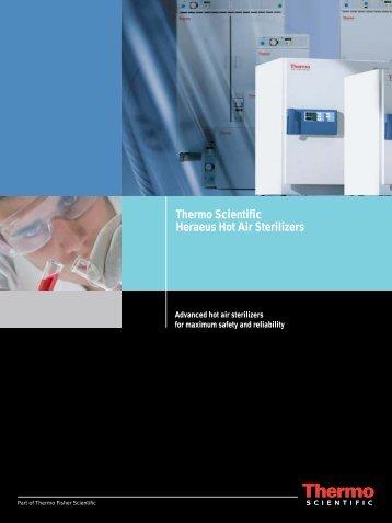 Thermo Scientific Heraeus Hot Air Sterilizers