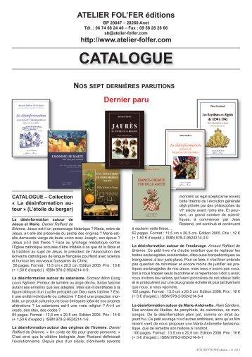 ATELiEr FOL'FEr éditions
