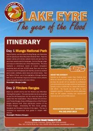 The Year of the flood Page 1 - Outback Track Tours