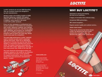 LT-3769 Why Buy brouchure - Loctite.ph