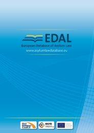 EDAL Information Leaflet - European Database of Asylum Law