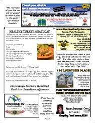 HEALTHY TURKEY MEATLOAF 827-4663 - Here's The Scoop
